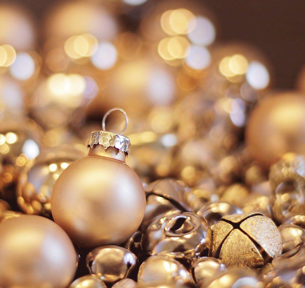 christmas, christmas balls, christmas bells